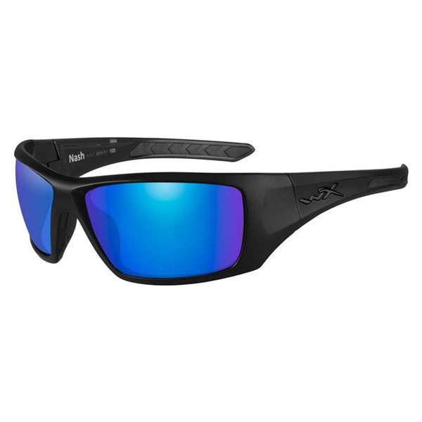 Matte Black (frame) - Polorized Blue Mirror (lens)