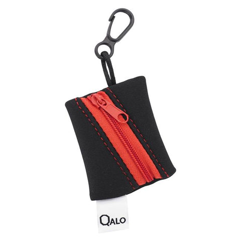 Qalo Thin Red Line Silicone Ring
