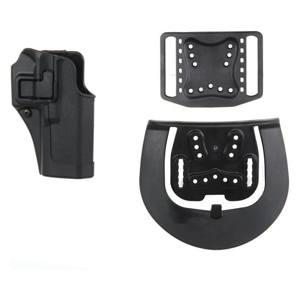 Blackhawk Serpa CQC Concealment Holster - (Black, Carbon Fiber, Left)