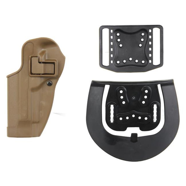 Blackhawk Serpa CQC Concealment Holster - (Coyote Tan, Matte, Left, Right)