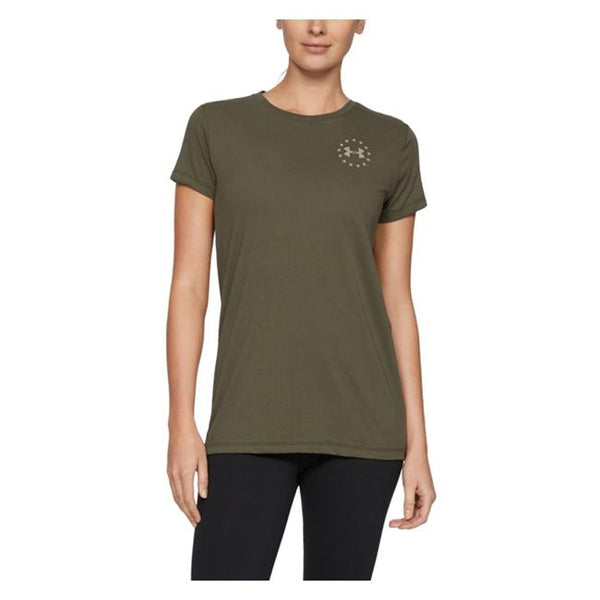 Under Armour Freedom Flag Cotton T-Shirt