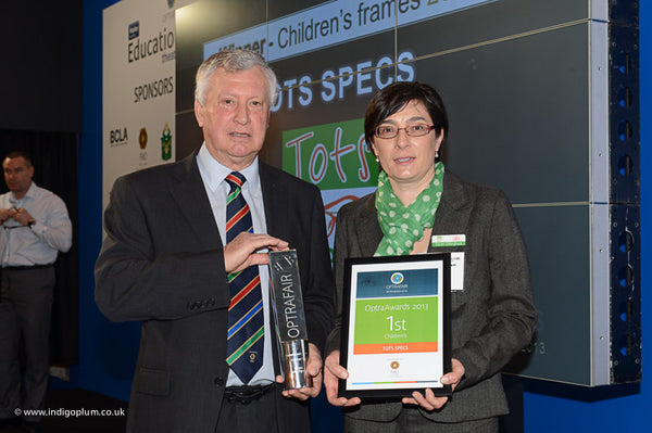 Optrafair Award 2013 - Best Children's Frame