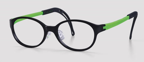 Tomato Glasses - TJBC4 - Junior Black/Green