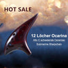 12 Löcher Ocarina Alto C Schwelkeramik U-Boot SharpChain + Display BaseS