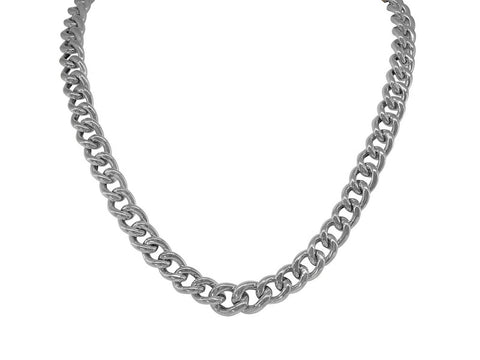 Veneto Curb Links Necklace - Superb