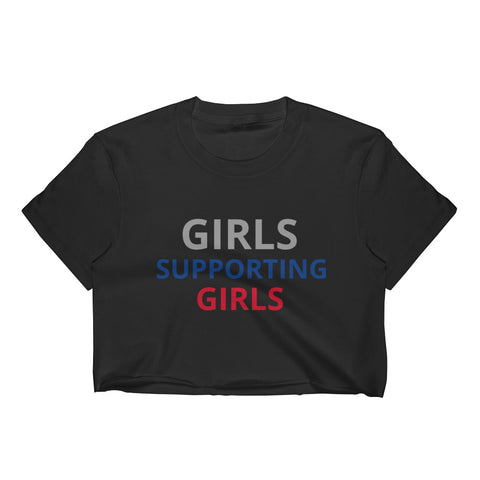Girls Supporting Girls Crop Top - Superb