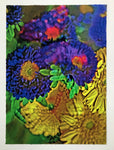 Matsumoto Aster, Gerbera and Butterfly- giclee