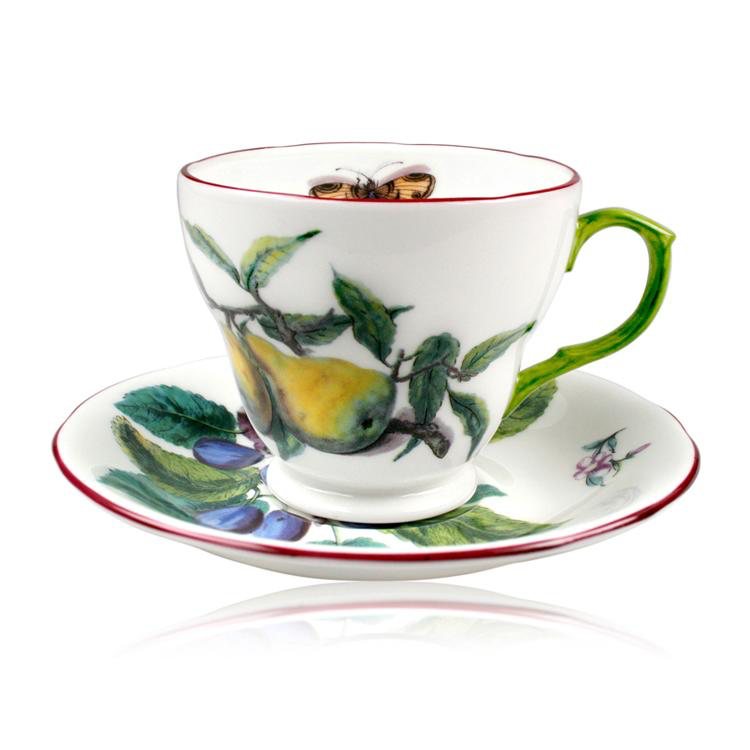 CHELSEA PORCELAIN COFFEE CUP AND SAUCER