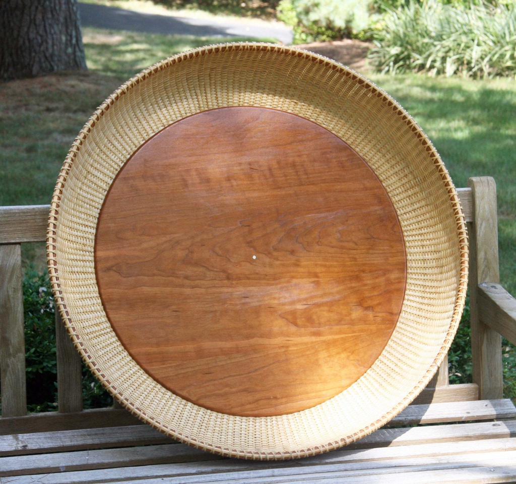 30-inch Nantucket-style basket tray
