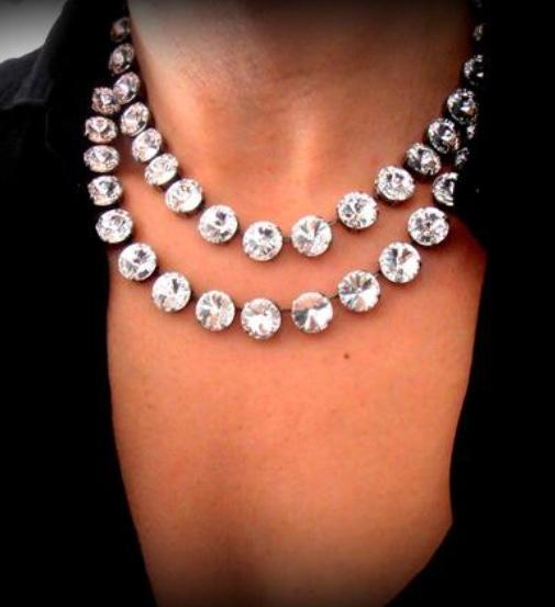 The Vivian Necklace - Double strand