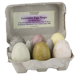 Assorted Egg Soaps