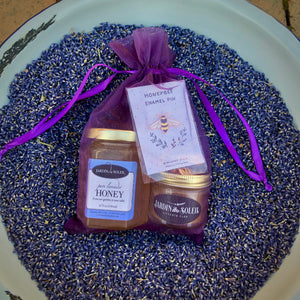 Lavender Bee Love Gift Set Packaged