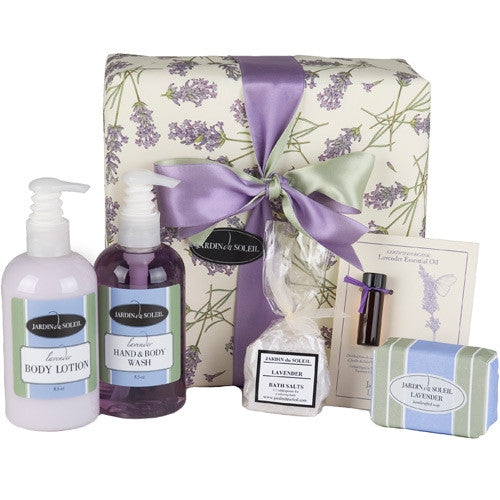 The Lavender Bath and Body Gift Set