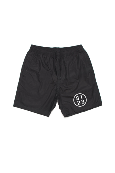 8123 Men's Swim Trunks (Black)