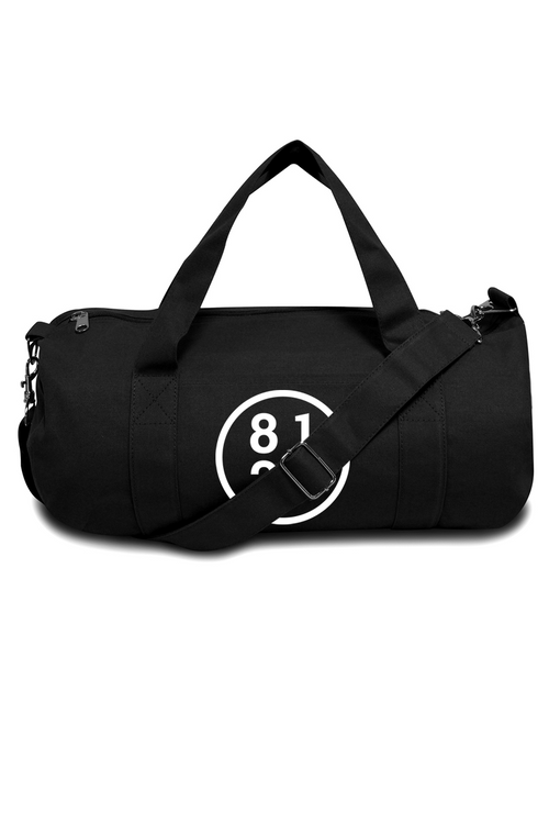 8123 Circle Logo Duffle Bag (BLK)