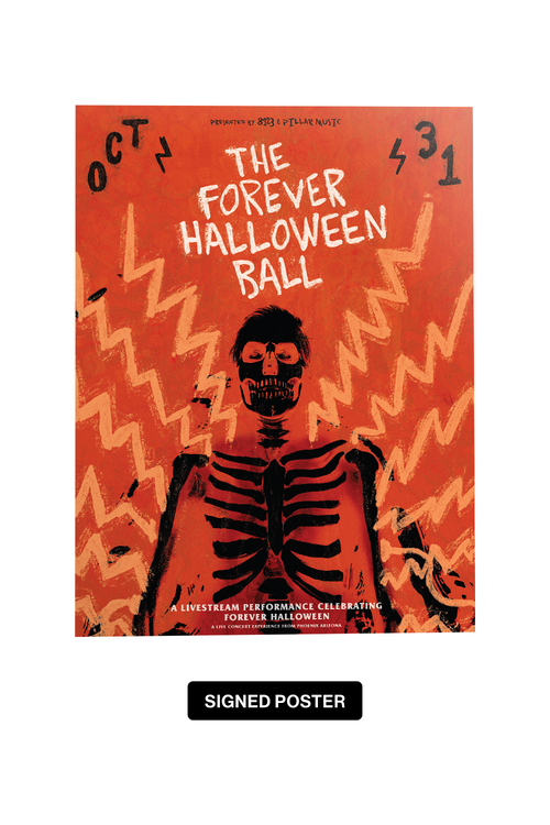 Forever Halloween Ball Signed Poster