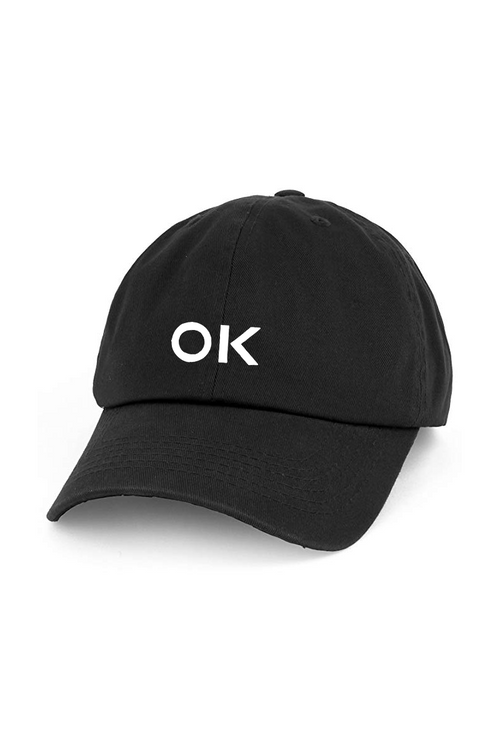 You Are Ok Hat (BLK)
