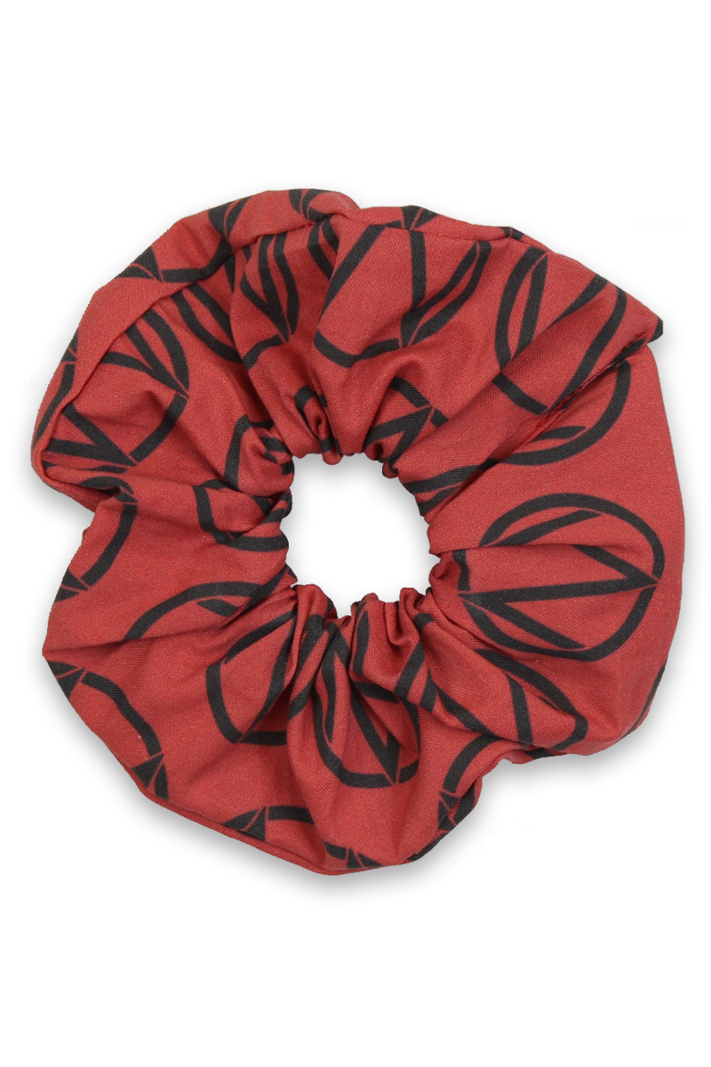 "The Maine ""M Logo"" Scrunchie"