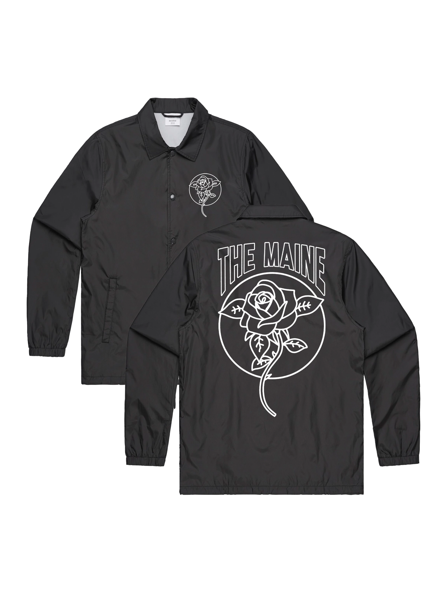 DEAD ROSE COACH JACKET