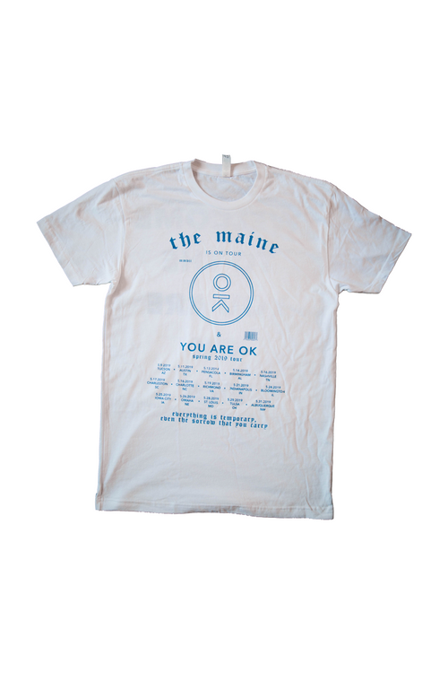 You Are Ok Spring Tour Tee 2019