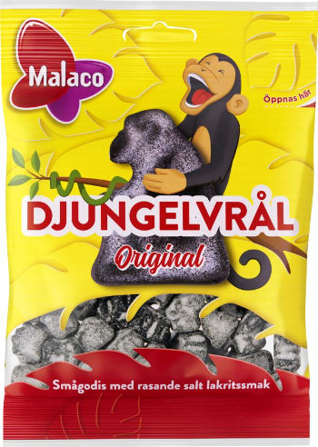 Djungelvrål Super Salty Liquorice BAG