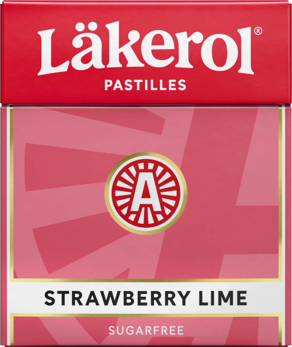 Läkerol Strawberry Lime