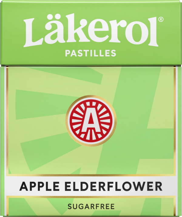 Läkerol Apple Elderflower