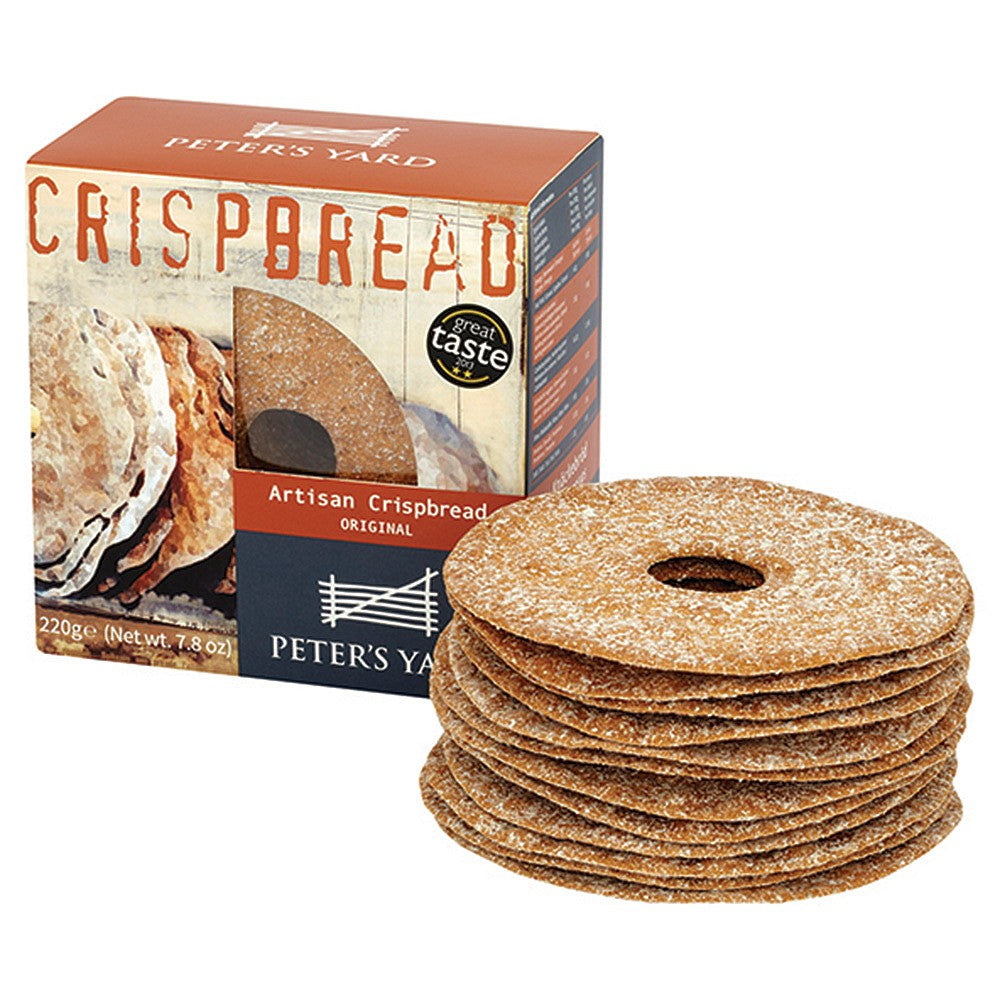 Peters Yard original crispbread with hole