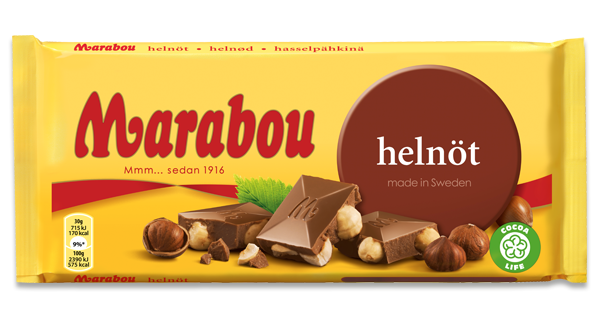 Marabou Whole Nuts