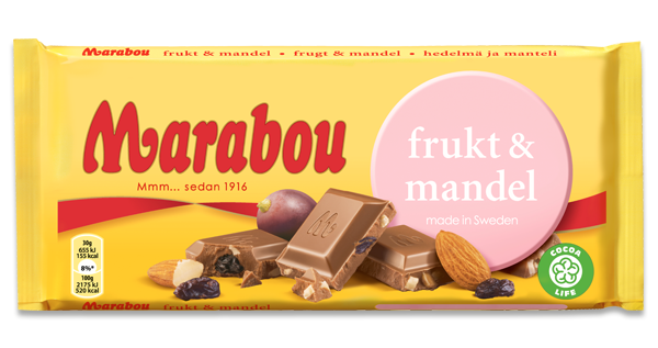Marabou Fruit & Almond