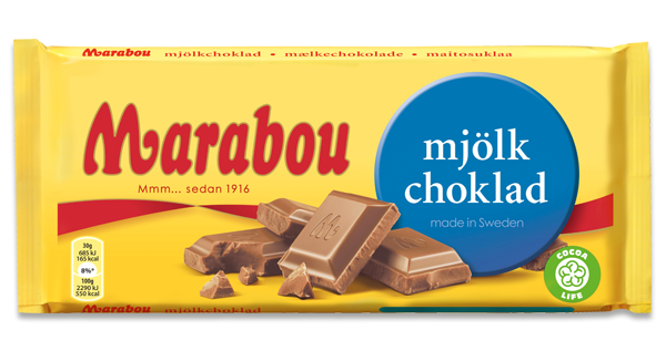 Marabou Milk Chocolate 200g