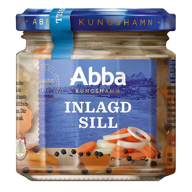 Abba Pickled Herring (Inlagd Sill) Expiry 16/3