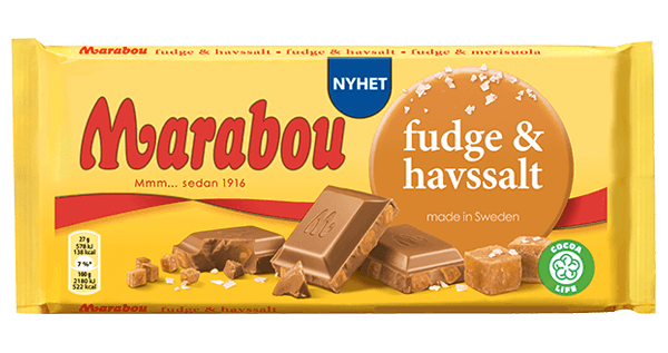 Marabou Fudge & Sea Salt