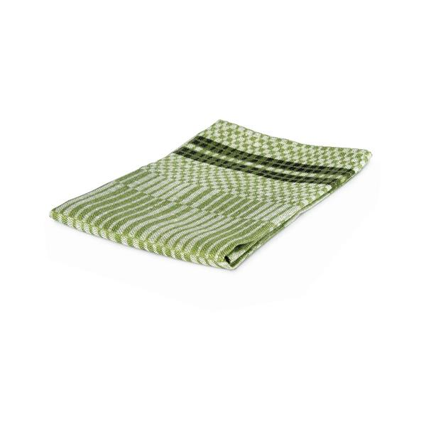 Towel Domino - Green/White
