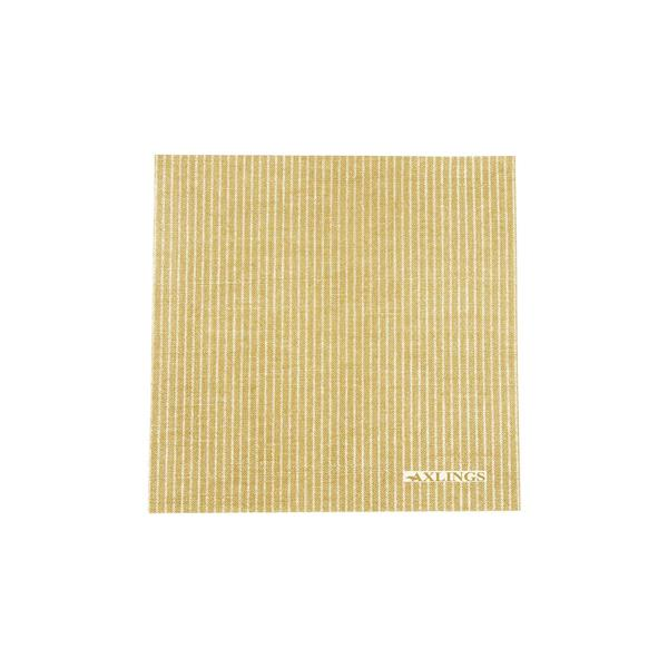 Napkins Big - Yellow/White
