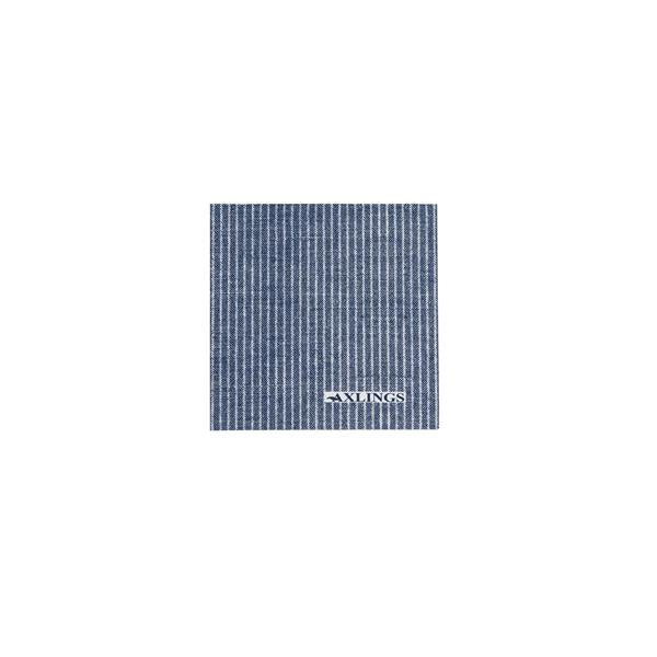 Napkins Small - Marine/White