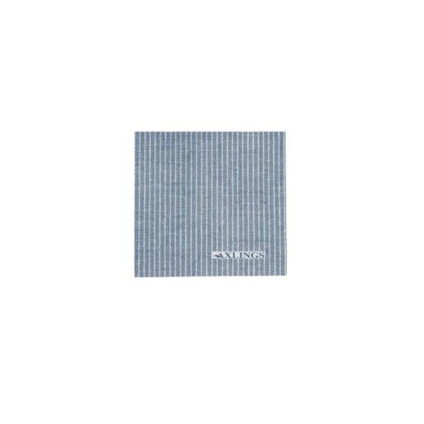 Napkins Small - Ice blue/White