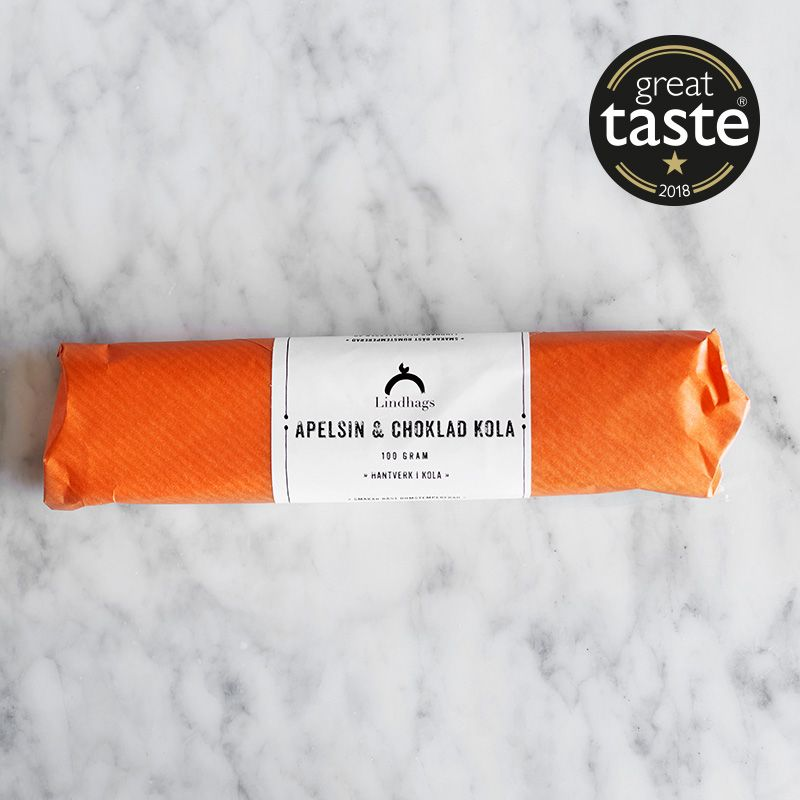 Lindhags Toffee - Orange & Chocolate