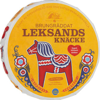 "Leksands Brown Crispbread ""Brungräddat"""