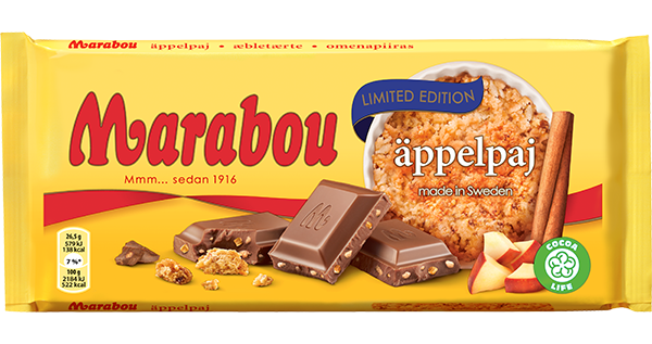 Marabou Apple Pie