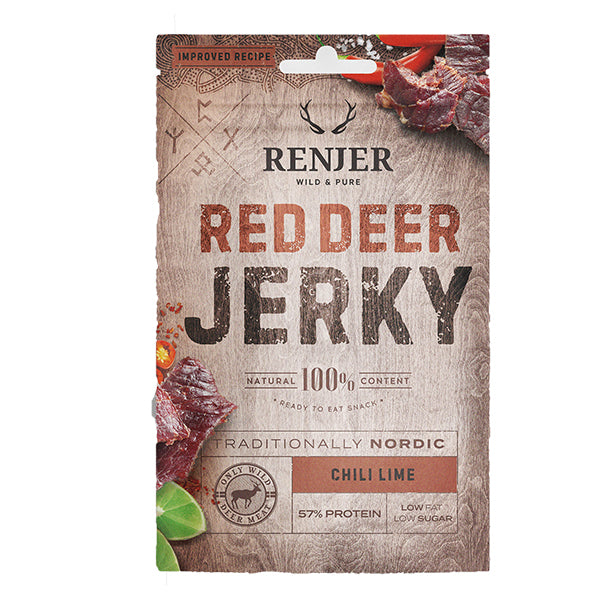 Renjer Red Deer Jerky