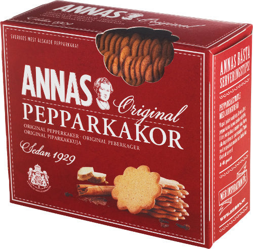 Annas Gingerbread Biscuits