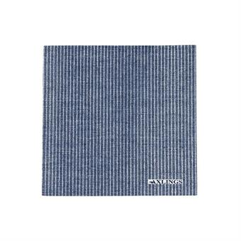 Napkins Big - Marine/White