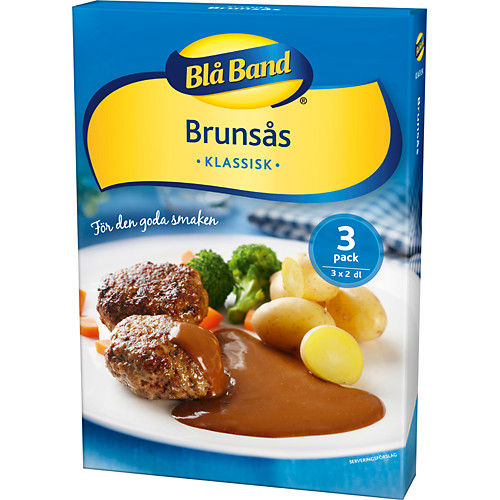 Blå Band BROWN SAUCE 3-pack