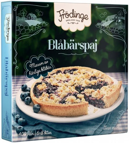 Frödinge Blueberry Pie (Sold Frozen)