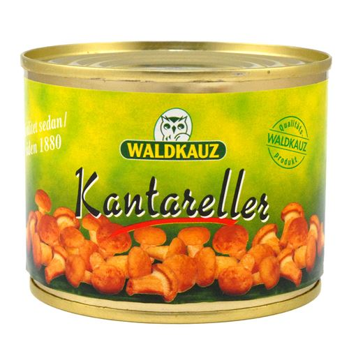 Chanterelles Tin