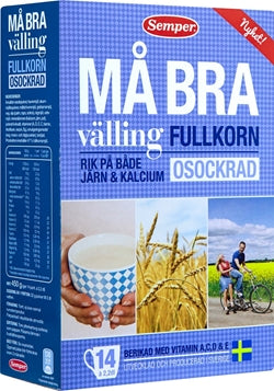 Må Bra Gruel - Wholegrain No Sugar