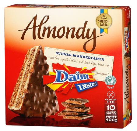 Almondy Daim Cake (Sold Frozen)