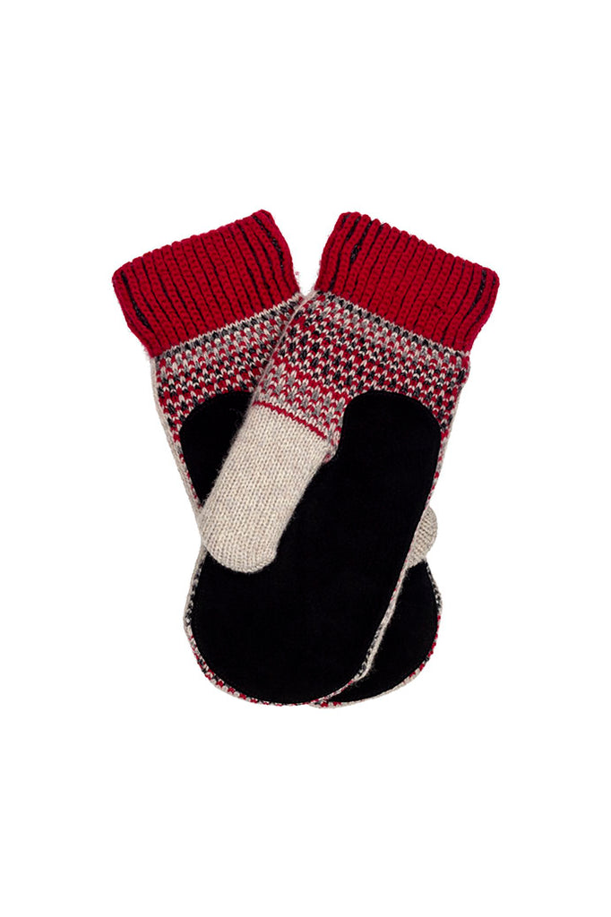 Dalarna Mittens SUEDE Palm