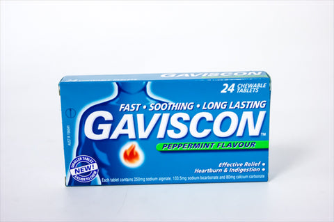 Gaviscon Tablets 24's
